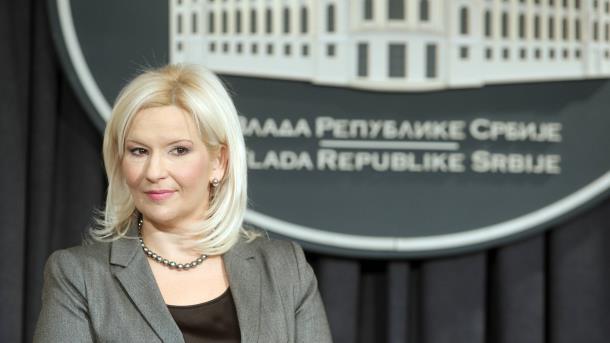 Photo of Zorana Mihajlović u ponedeljak u Majdanpeku
