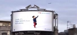 Digitalni bilbordi koji prepoznaju avione u letu