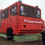 Vatrogasci napravili vozilo od gajbi za pivo
