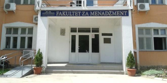 Svečani prijem budućih brucoša na Fakultetu za menadžment