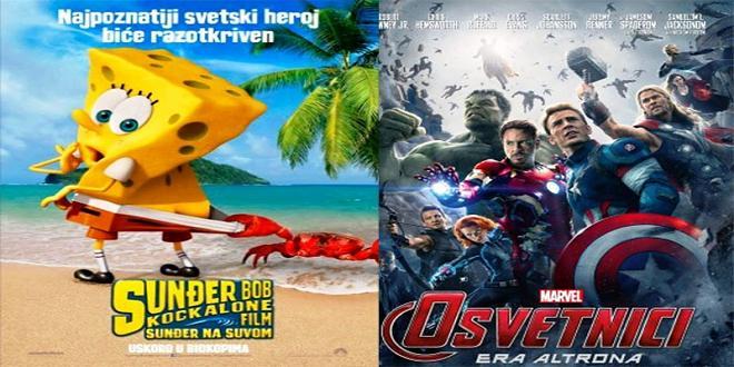 Pozorište: Ovog vikenda hit filmovi!