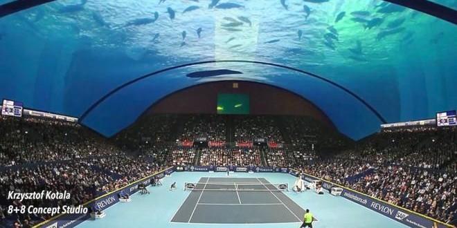 Dubai će dobiti teniski teren pod vodom