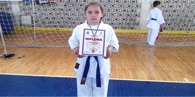 Photo of Karate: Zlato za Nađu Stanković