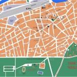plan grada Zajecara