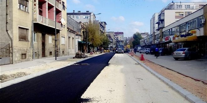 Intenziviraju se radovi na uredjenju ulica Svetozara Markovića i Nikole Pašića