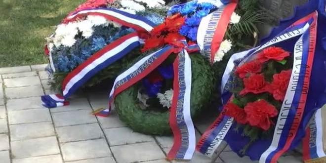 Zaječar: Polaganje venaca povodom Dana formiranja 9. srpske narodnooslobodilačke udarne brigade