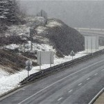 Cestobrodica - slab sneg