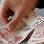 Isplata redovne i privremene novčane naknade u utorak i sredu