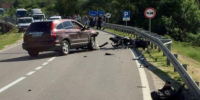 Photo of TEŠKA NESREĆA KOD ZAJEČARA: Stradao motociklista