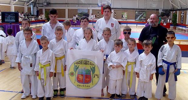 Održano 2. kolo Timočke karate lige -EKIPA GRADSKOG KARATE KLUBA IZ ZAJEČARA NAJUSPEŠNIJA