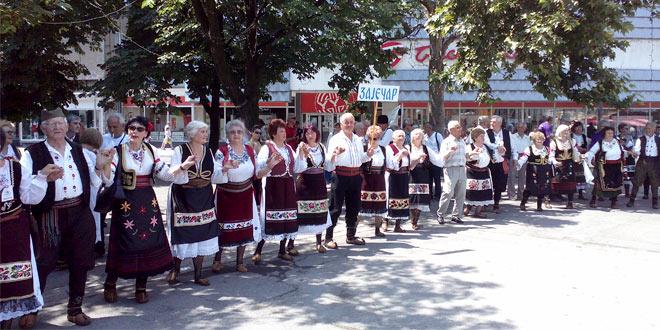 Prvi festival kulturno-umetničkih društava penzionera u Zaječaru