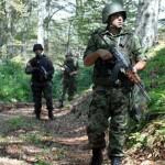 Združene snage VS i MUP-a na terenu (Foto Vojska Srbije)