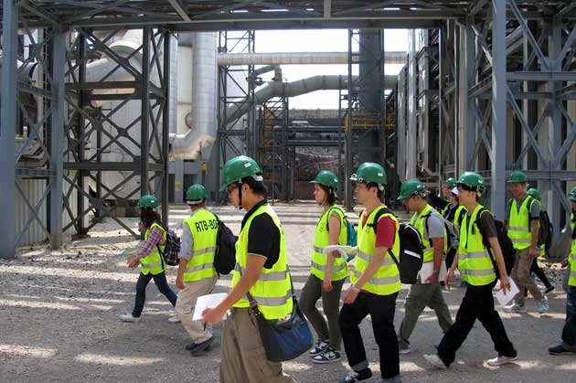 Photo of STUDENTI I PROFESORI JAPANSKOG AKITA UNIVERZITETA POSETILI RTB BOR