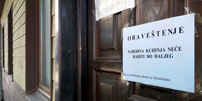 Danas prekinut rad Narodne kuhinje u Zaječaru, distribucija hrane ponovo kreće sutra