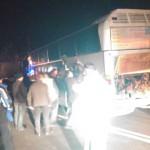 LANČANI SUDAR KOD ZAJEČARA: Dvoje povređeno u sudaru autobusa, kamiona i dva automobila