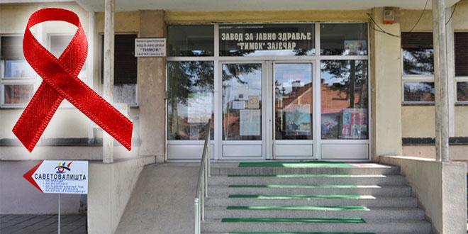 "Zavod za javno zdravlje ""Timok"" u Zaječaru 1.decembra vrši besplatno testiranje na HIV"