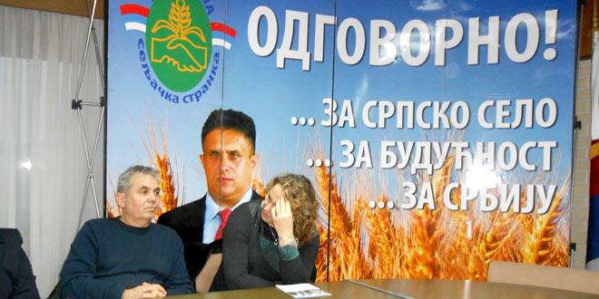 17.decembra izborna sednica Skupštine Gradskog odbora Ujedinjene seljačke stranke u Zaječaru