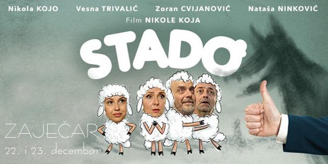 """Film """"Stado"""" u zaječarskom pozorištu"""