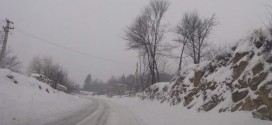 U istočnoj Srbiji otežan saobraćaj, snežni nanosi, temeprature od -2 do -9…