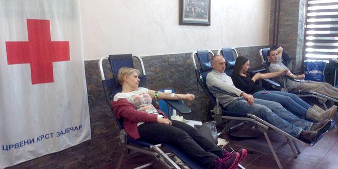 Akcija u Zaječaru: Dajte krv! Budite humani!