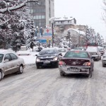 Sneg--kola-centar