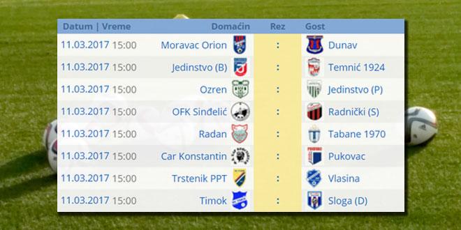 Srpska liga Istok: Prolećni deo prvenstva počinje 11. marta