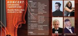 Koncert Baneta Jovanovića u Boru