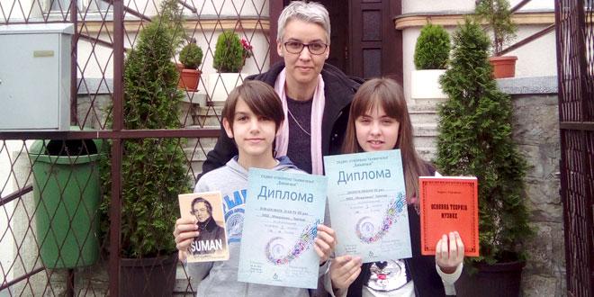 BRAVO! Mina Dinić i Pavle Jovanović osvojili prve nagrade iz solfeđa!