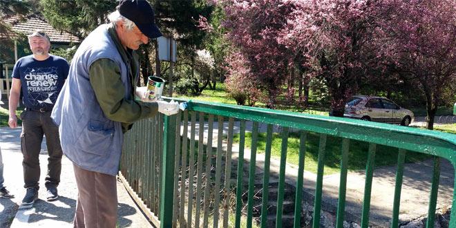 Aktivisti SNS uređuju i čiste Gamzigradsku banju