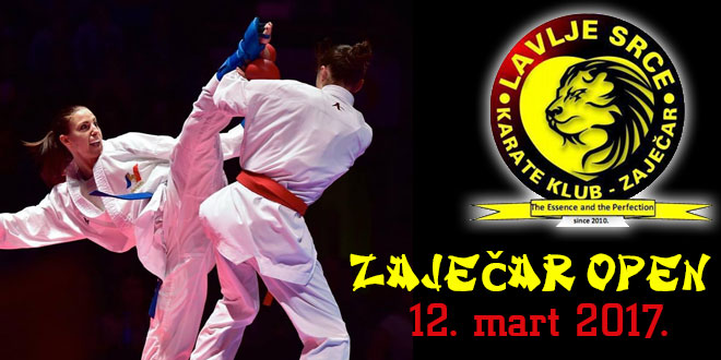 KARATE TURNIR ZAJEČAR OPEN 2017.