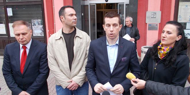 Srpska napredna stranka i njeni koalicioni partneri predali listu