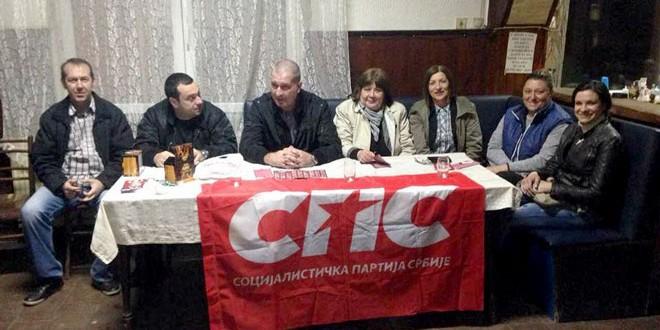 """Predstavnici koalicije """"SPS – Jedinstvena Srbija – Ivica Dačić"""" večeras u Koprivnici"""