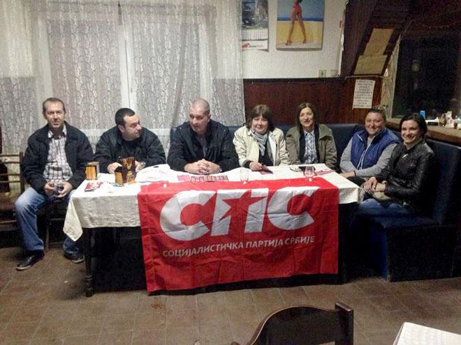 """Photo of Predstavnici koalicije """"SPS – Jedinstvena Srbija – Ivica Dačić"""" večeras u Koprivnici"""