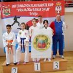Na karate turniru u Vrnjačkoj Banji uspešni zaječarski karatisti