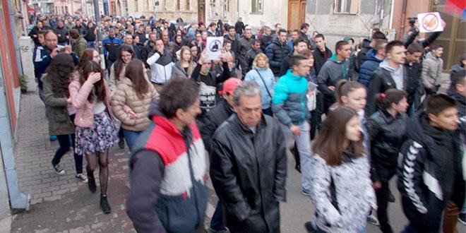 PROTESTI U ZAJEČARU (2. dan)   FOTO
