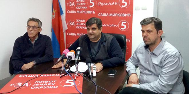 Mirković: Želim da nastavim tamo gde smo stali, da u grad Zaječar vratimo život!