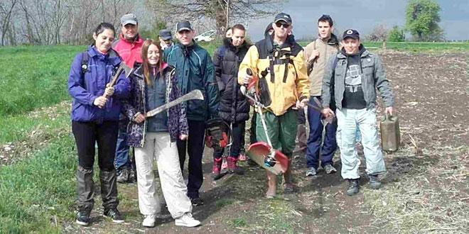 Zaječarski planinari vikend proveli radno!