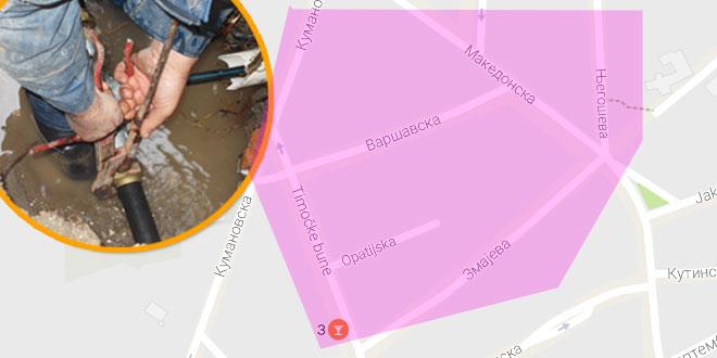 Zaječar: Danas bez vode više ulica u gradu