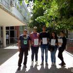 Uspešni zaječarski gimnazijalci na 3. Nacionalnoj geografskoj olimpijadi