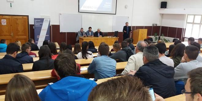 Fakultet za menadžment u Zaječaru otvorio vrata srednjoškolcima
