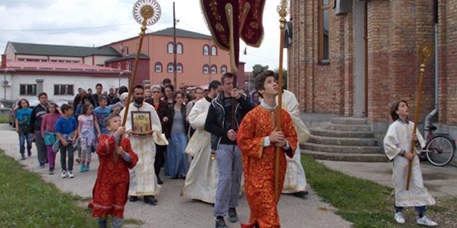 U Kotlujevcu počelo obeležavanje slave hrama Vaznesenja Gospodnjeg