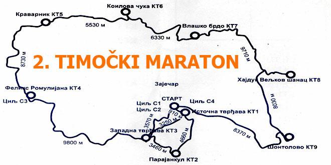 Drugi Timočki maraton zakazan za 13. maj