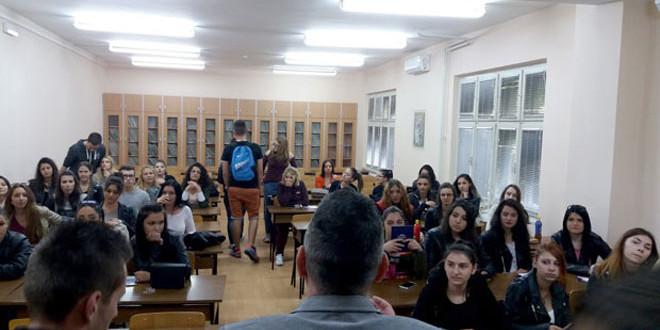 """Fakultet za menadžment otvorio vrata srednjoškolcima iz Bora: """"NAŠI BUDUĆI STUDENTI IMAĆE NAJKOMFORNIJE I NAJKVALITETNIJE USLOVE STUDIRANJA, KVALITETNE PROFESORE I ASISTENTE"""""""