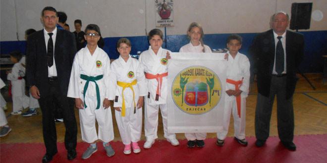 Nove medalje za mlade karatiste Gradskog karate kluba Zaječar