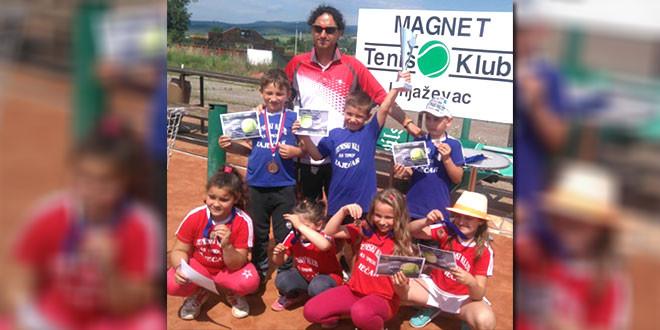 Mladi teniseri AS Timoka iz Zaječara ponovo postigli izvanredne rezultate!