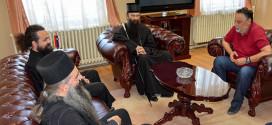 Njegovo Preosveštenstvo Episkop timočki Ilarion na prijemu u Gradskoj upravi u Zaječaru