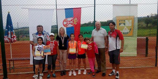 Treće mesto za Jelenu Serjević iz Teniskog kluba As Timok!