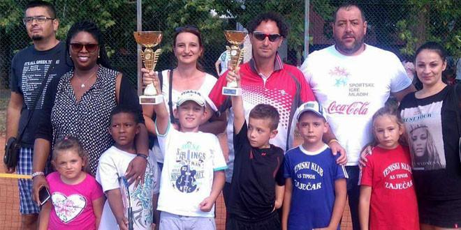 Uspeh za uspehom -Zaječarski teniseri na turniru u Sokobanji i Jagodini postigli odlične rezultate