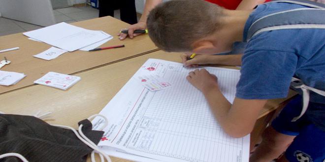 Podeljen školski pribor deci korisnika Narodne kuhinje u Zaječaru