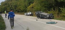 Dve osobe povređene u saobraćajnoj nezgodi kod Majdanpeka